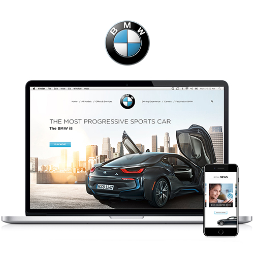 CONCEPT BMW WEBSITE